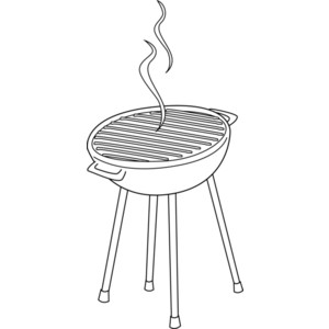 Free Bbq Clip Art Black And White, Download Free Clip Art.