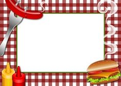 Barbecue clipart border, Barbecue border Transparent FREE.