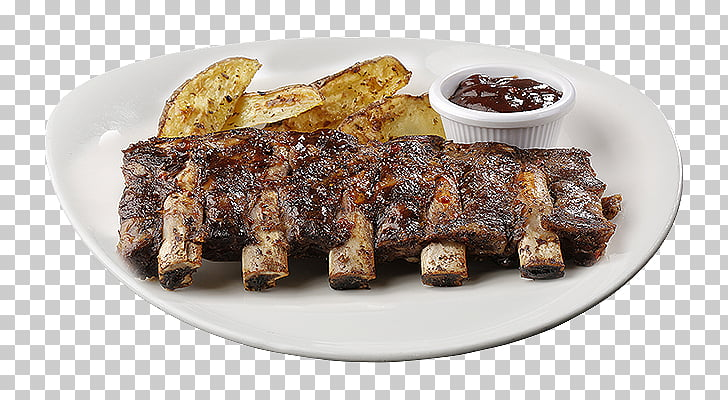 Sirloin steak Spare ribs Barbecue Short ribs, barbecue PNG.