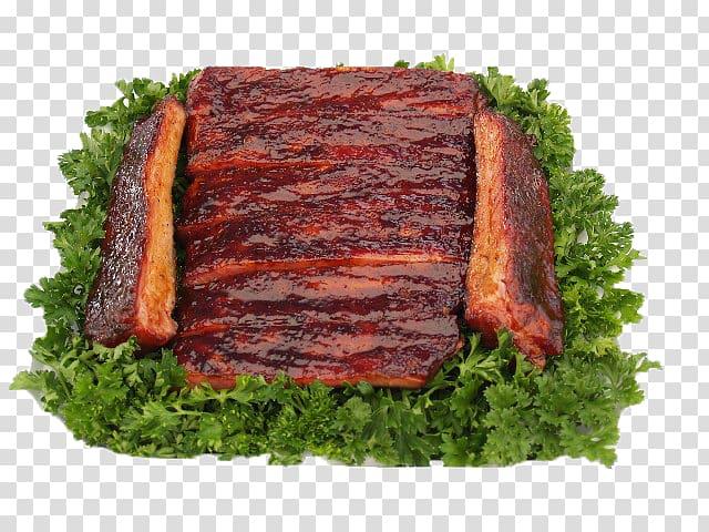 Sirloin steak Spare ribs Barbecue Roasting Pork ribs, BBQ.