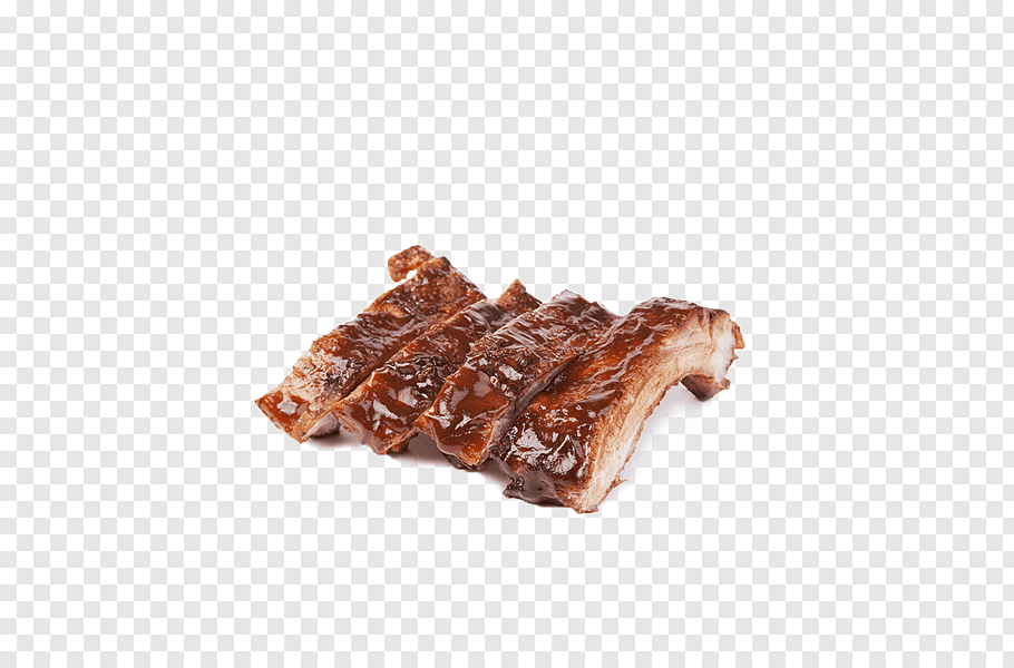 Cooked meat dish, Barbecue grill Pork ribs Barbecue sauce.