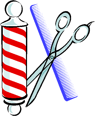 Barber shop symbol clip art.