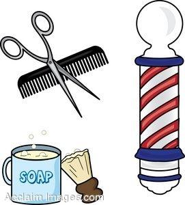 Barber beauty shop clipart #9