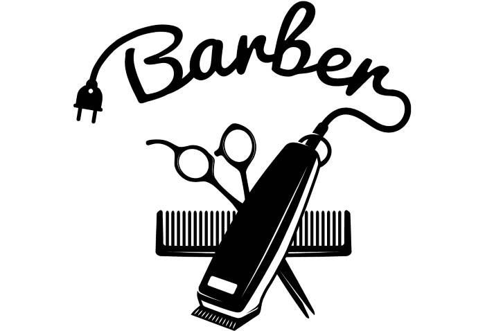 Image result for black barber shop svg.