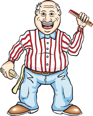 Barber Clipart Png.