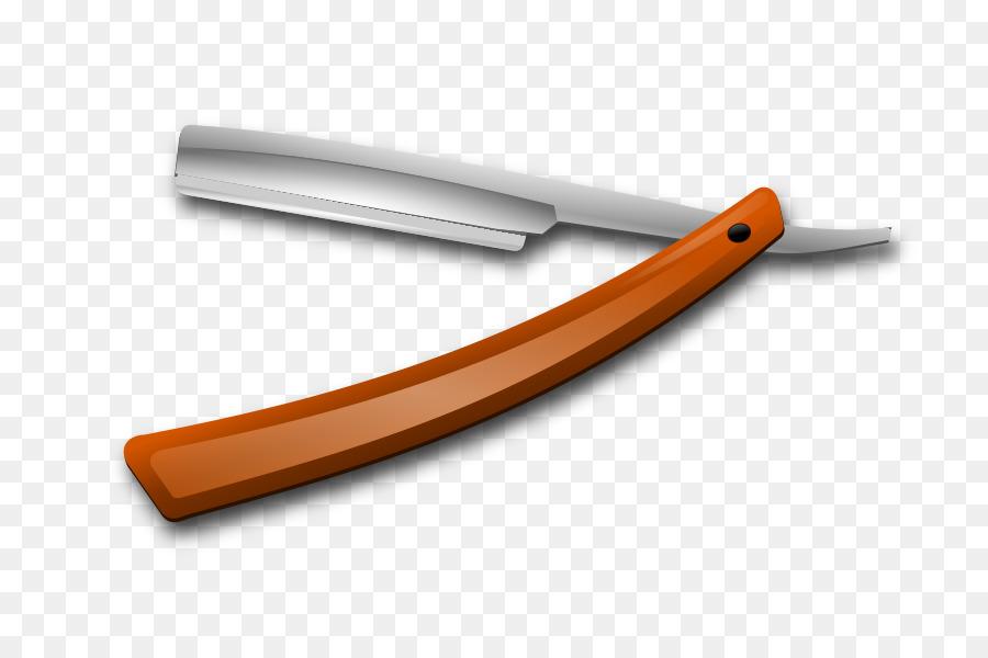 Straight razor clipart Straight razor Shaving clipart.