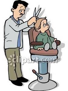 Barber clipart boy haircut, Barber boy haircut Transparent.
