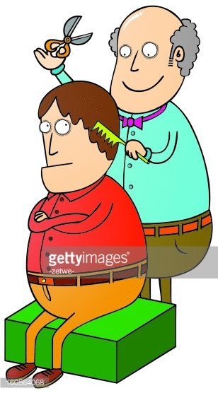 barber Clipart Image.
