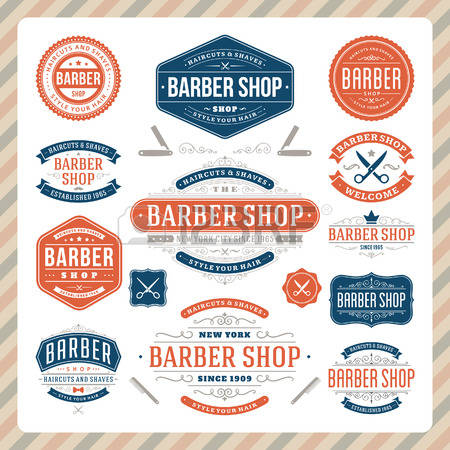 8,948 Barber Shop Cliparts, Stock Vector And Royalty Free Barber.
