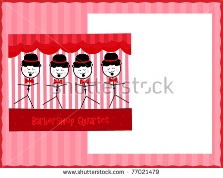 Barbershop Quartet Stock Photos, Royalty.