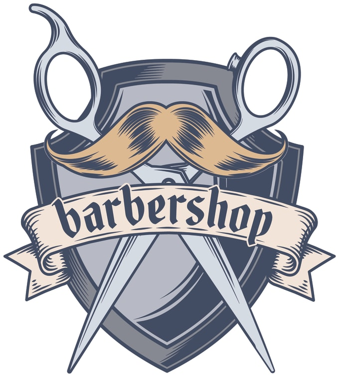 do barber logo design.