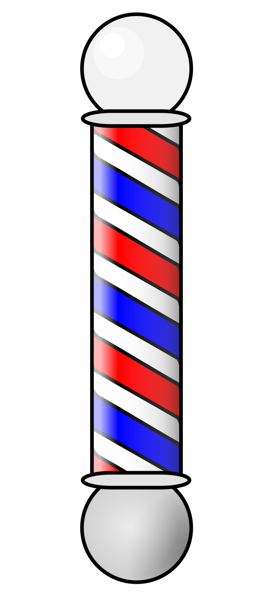 Vector Freeuse Download Clippers Vector Barber Pole.