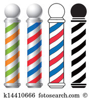Barber pole Clipart Royalty Free. 528 barber pole clip art vector.