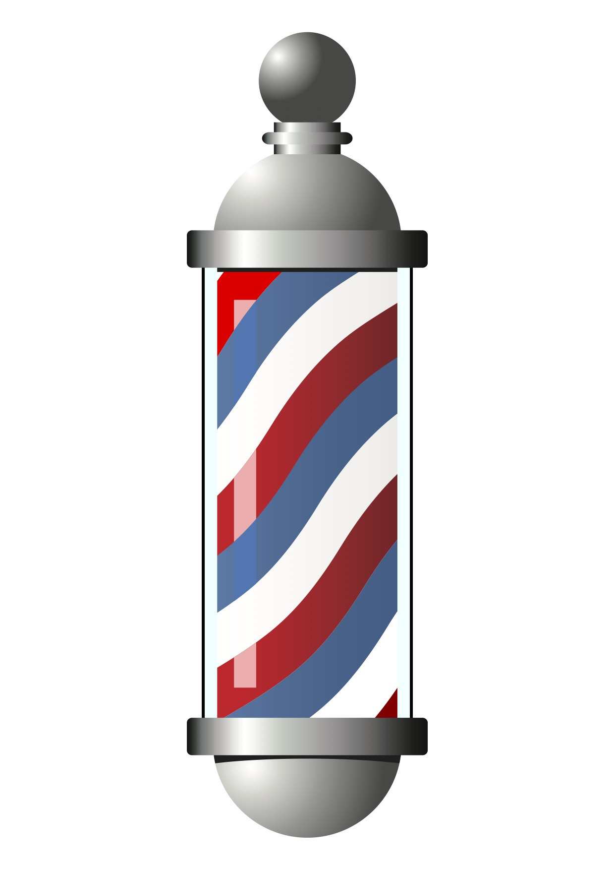 Barber Pole Clipart.