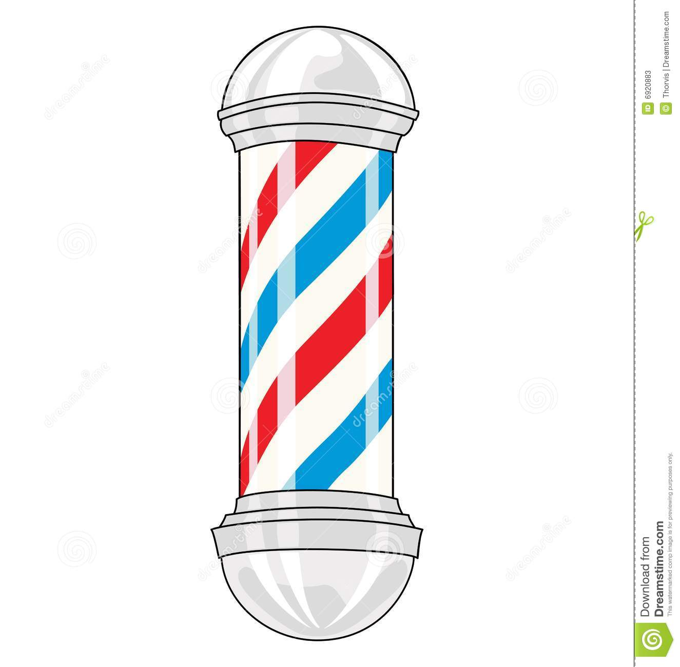 Barber Pole Stock Photos.