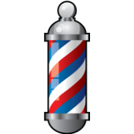 Barber Pole Vector.