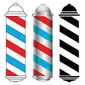 Barber pole Clipart Royalty Free. 528 barber pole clip art vector.