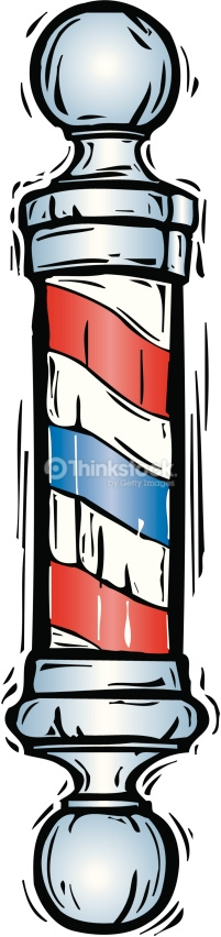 119 Barber Pole free clipart.
