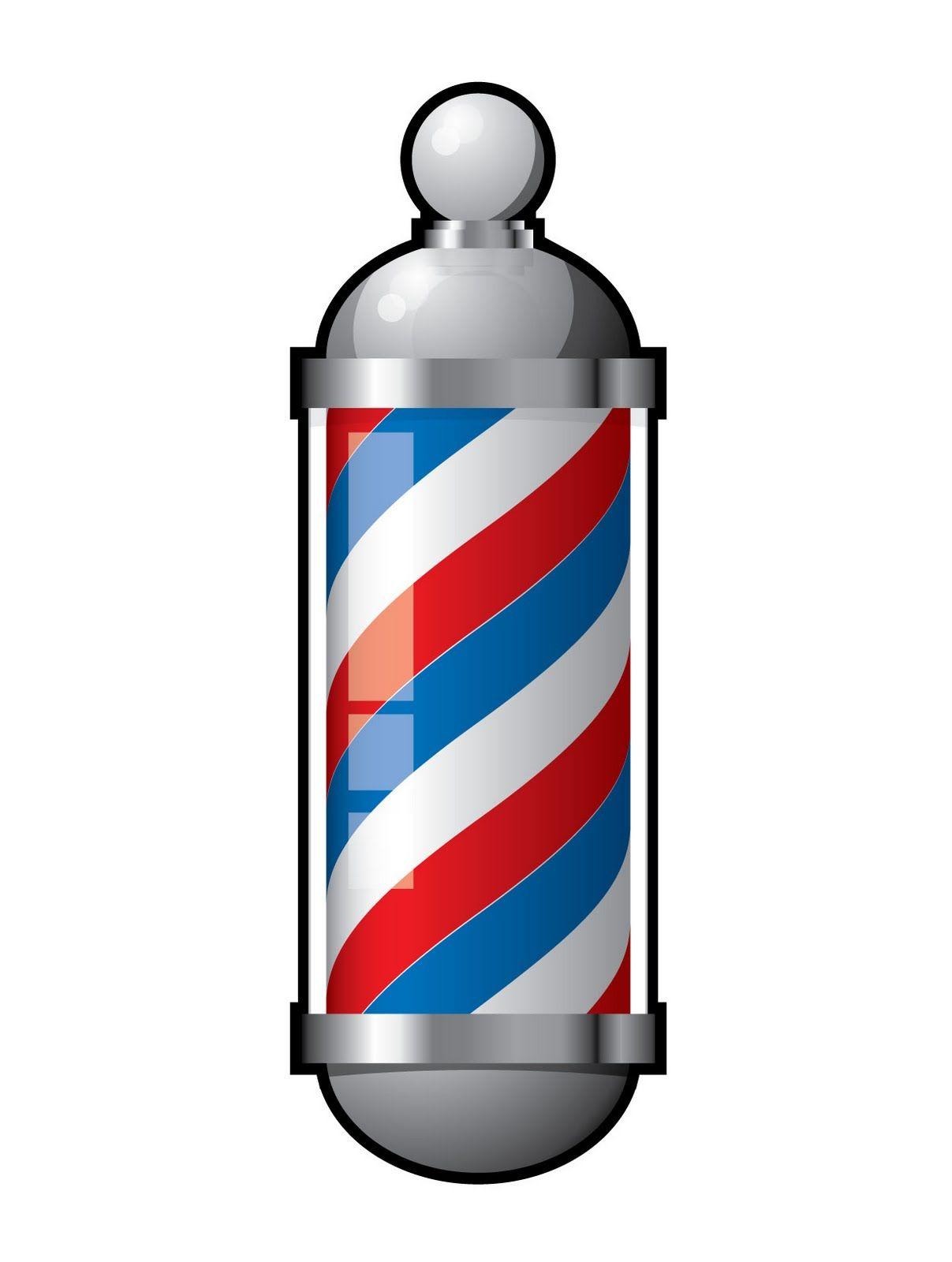 Barber Pole Vector.