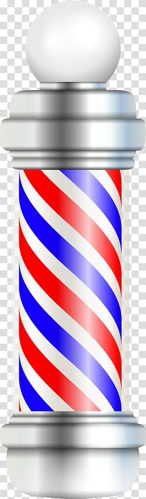 Barber\\\'s pole , Barber transparent background PNG clipart.