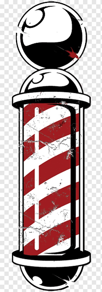 Home Logo, Barber, Barbers Pole, Shaving, Beard, Razor.