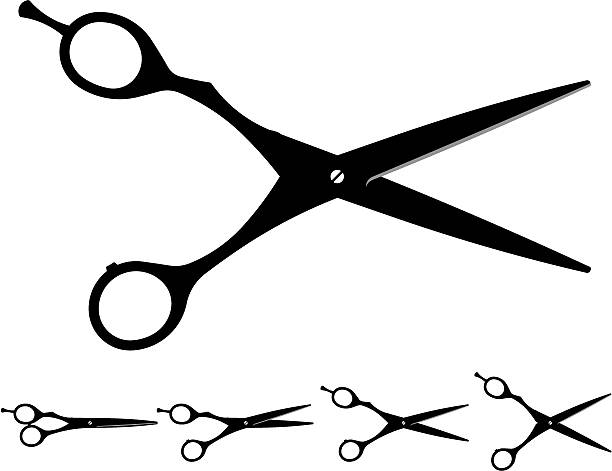 Best Haircutting Scissors Illustrations, Royalty.