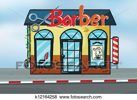 Barber shop Clip Art.