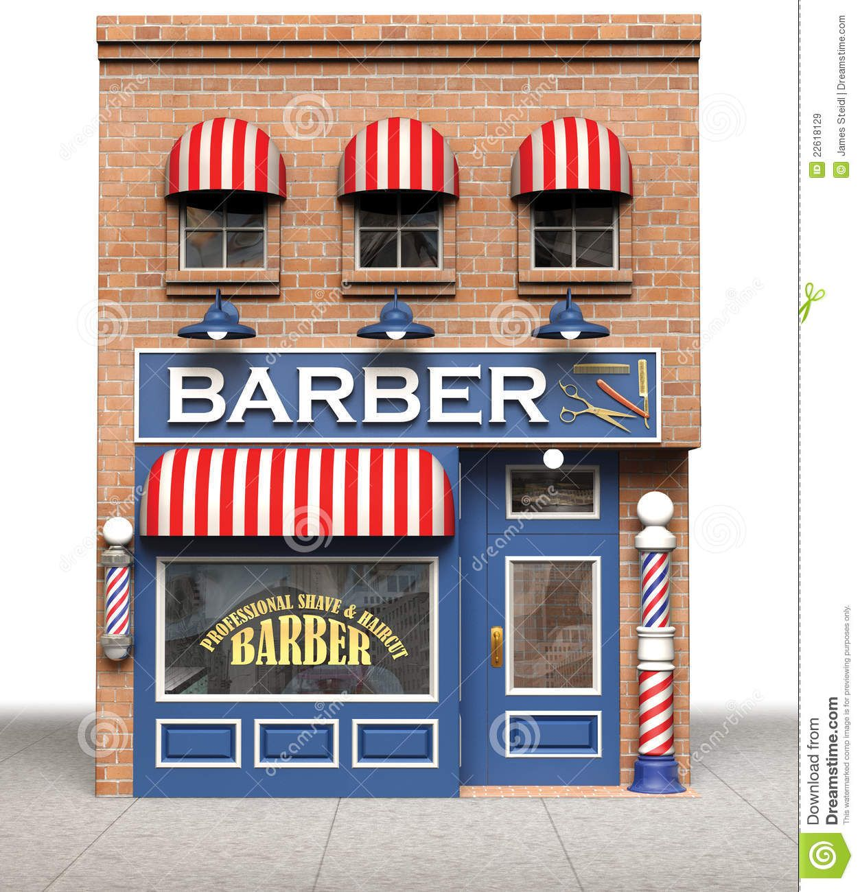 barber shop clipart.