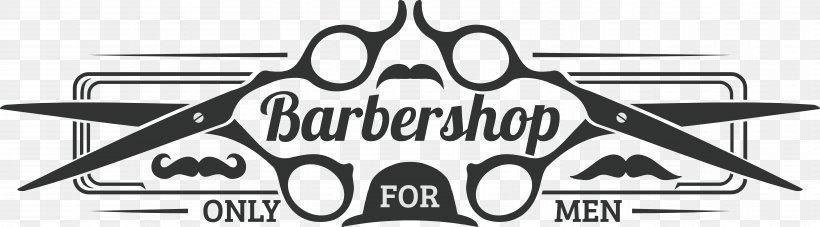 Logo Barbershop, PNG, 12971x3600px, Logo, Barber, Barbershop.