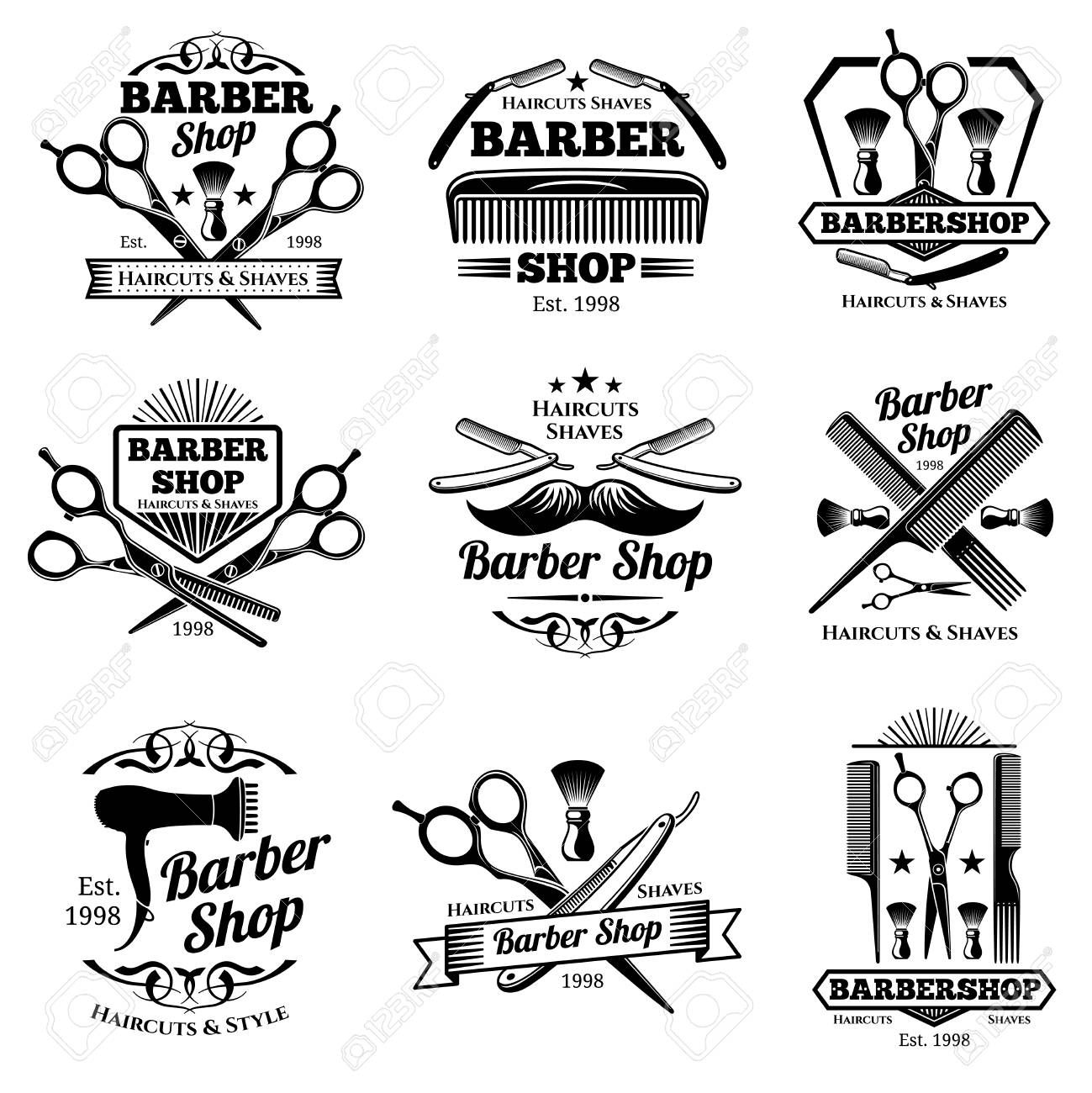vintage label clipart black and white.