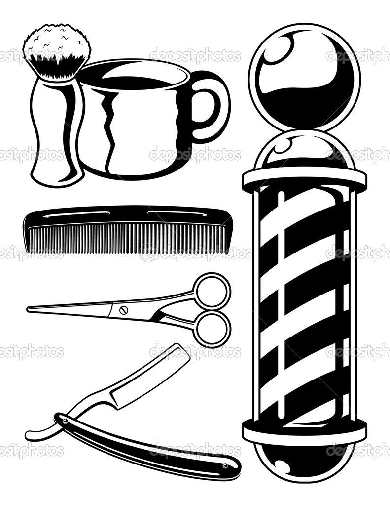 barber pole Colouring Pages.