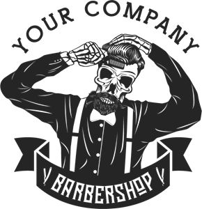 Barbershop Logo Vectors Free Download.