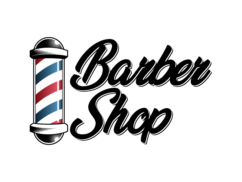 Barbershop Logo by Jessy Barbier on Dribbble.
