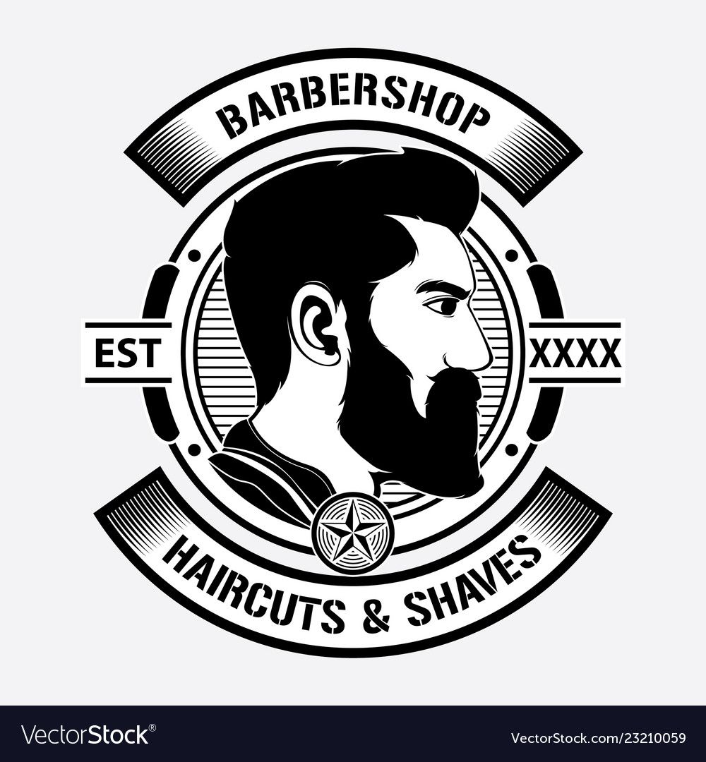 Design barber shop logo.