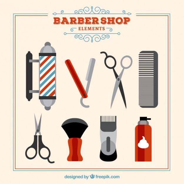 Barber Tools Vectors, Photos and PSD files.