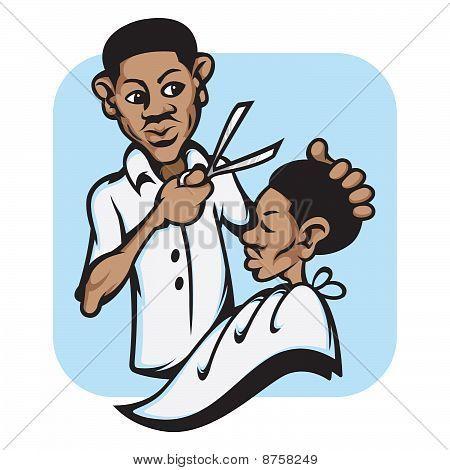 Barber images clip art.