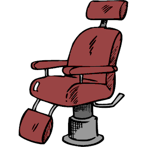 Barber chair clipart.