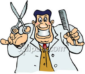 Barber clipart images.