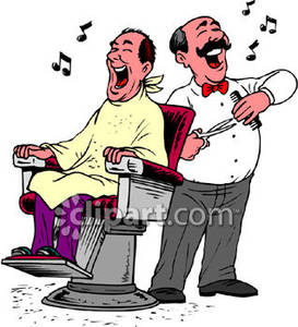 and His Customer Singing.