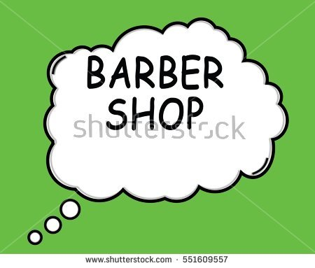 Barber Word Stock Photos, Royalty.