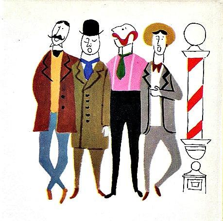 Barbershop Quartet Clip Art (27+).