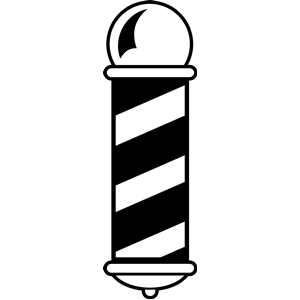 Barber shop clipart free.