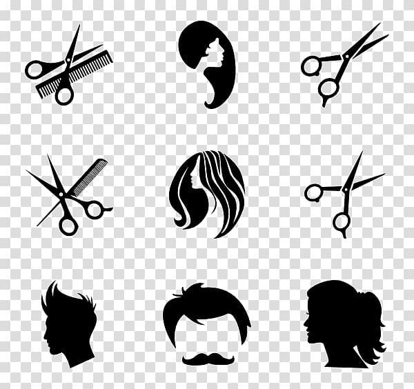 Beauty Parlour Hairdresser Computer Icons Barber, salon.