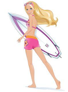 Barbie Clipart.