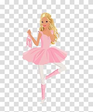 Ballerina Cartoon transparent background PNG cliparts free.