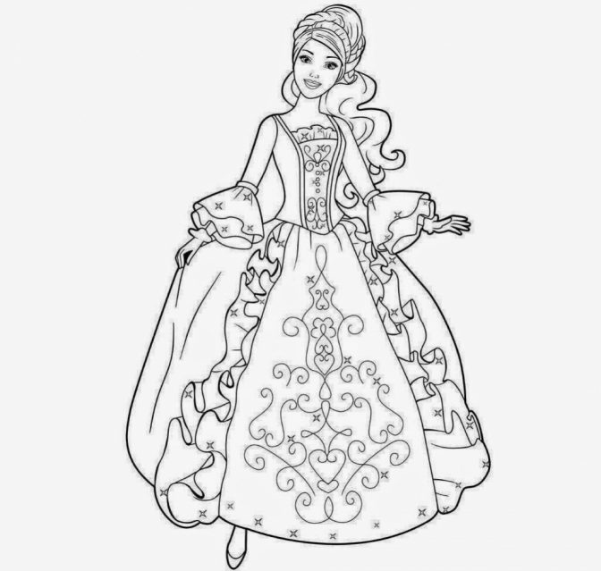 color pages ~ Barbie Doll Png Clipart Astonishing Black And.