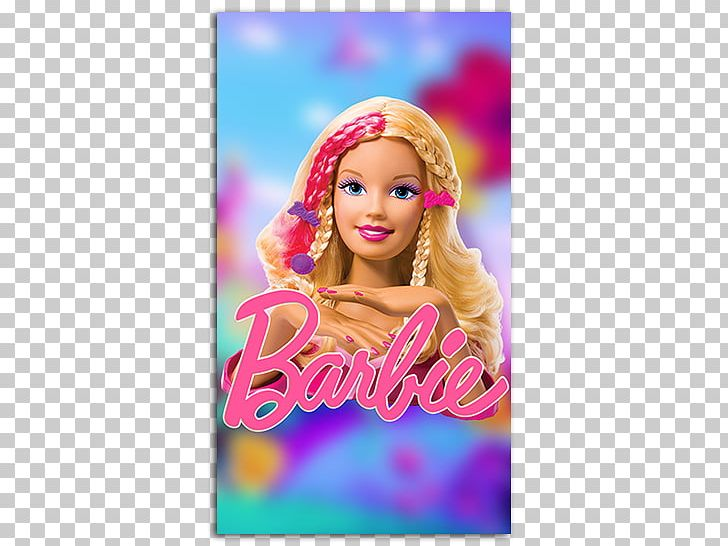 Barbie IPhone Desktop Mobile Phone Accessories Doll PNG.