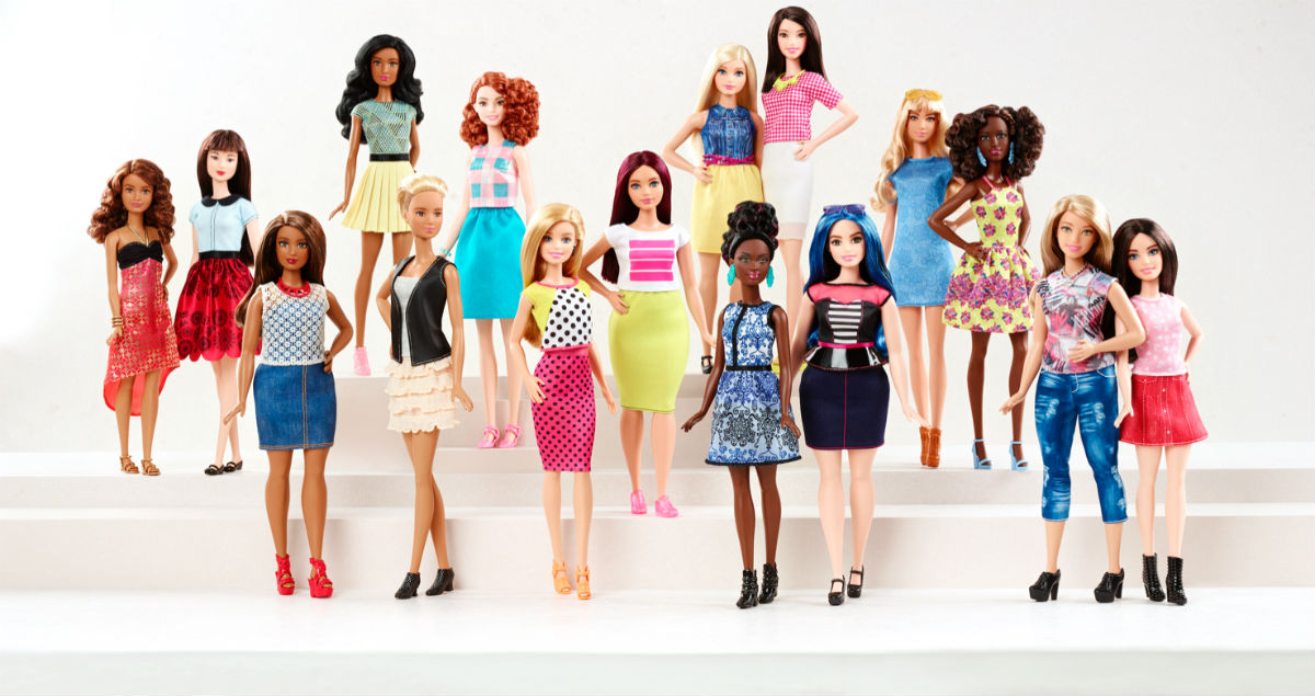 Like Real People, Barbie Now Comes in Different Sizes.