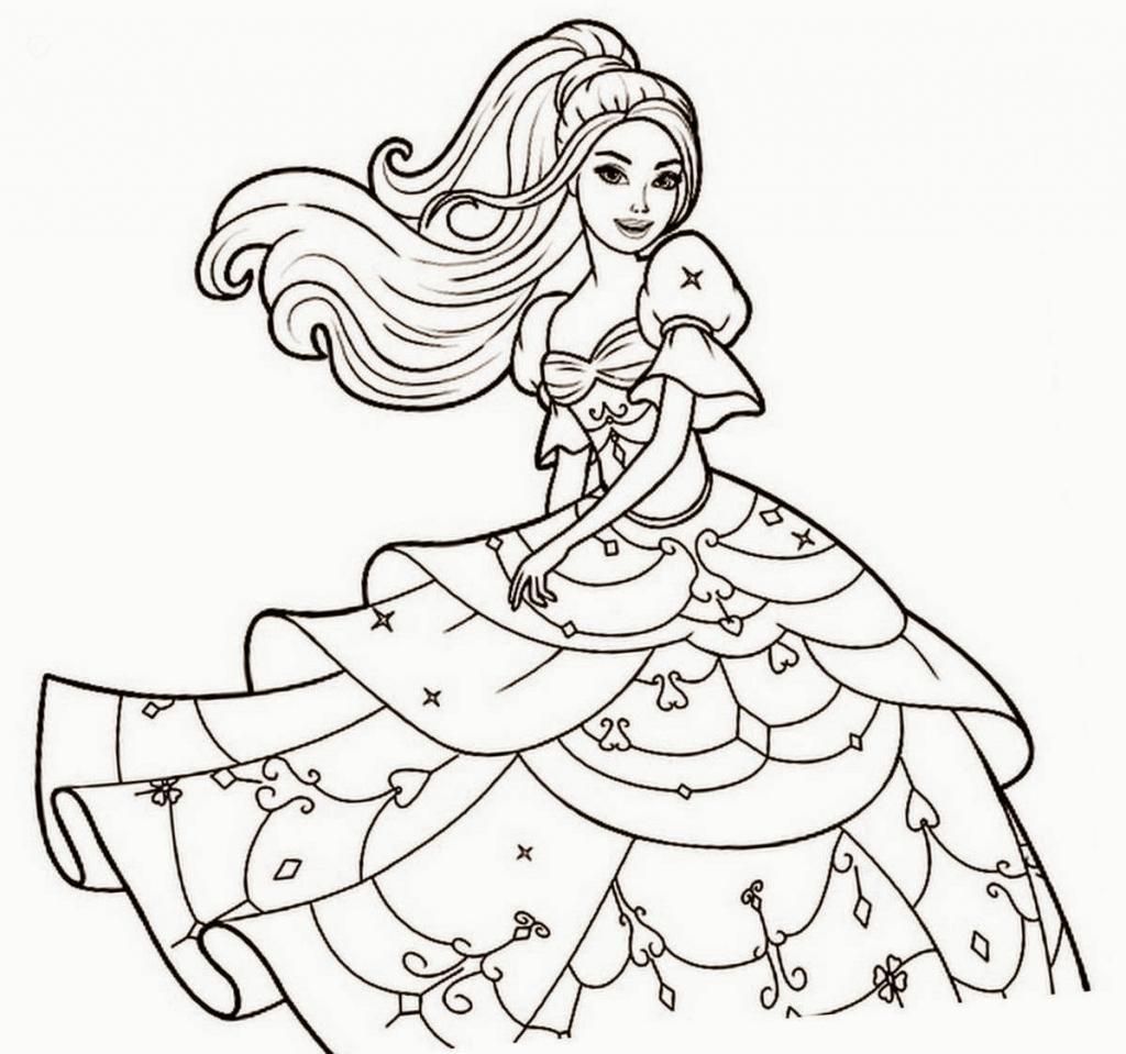 Barbie Outline.