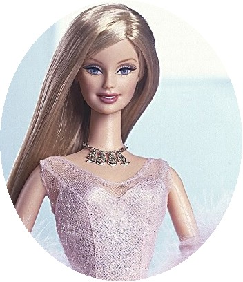 Clipart of beautiful barbie dolls.